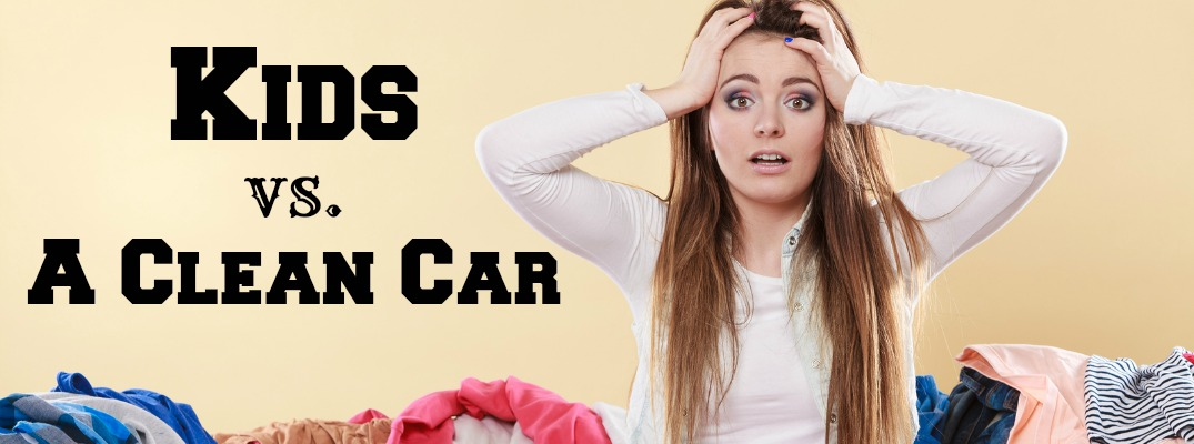 Keep Car Clean When You Have Kids