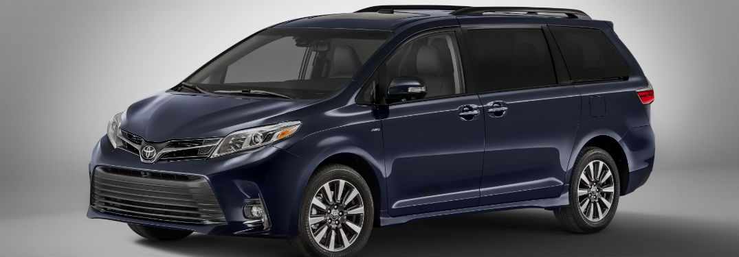 2018 Toyota Sienna Technology and Style