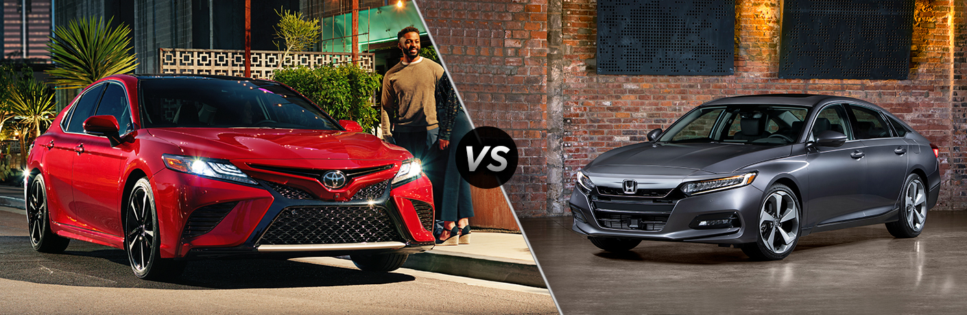 2018 Toyota Camry vs 2018 Honda Accord Sedan