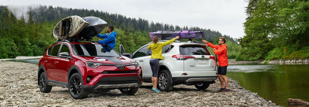 2018 Toyota Rav4 Passenger and Cargo Capacities
