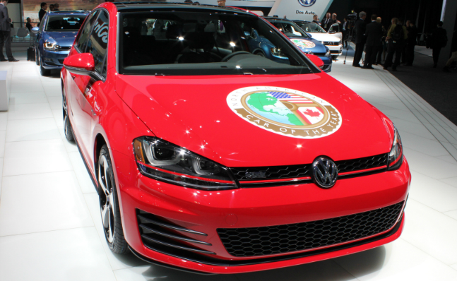 VW Golf Car of the Year