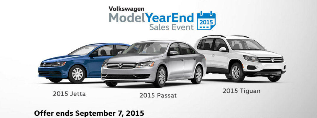 Volkswagen Model Year End Sales Event Rhode Island