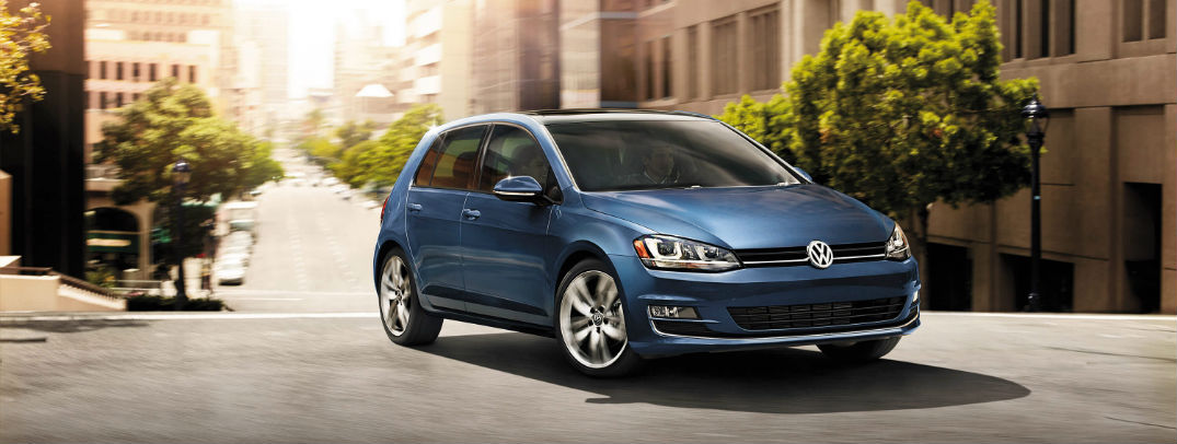 2016 Volkswagen Golf color options