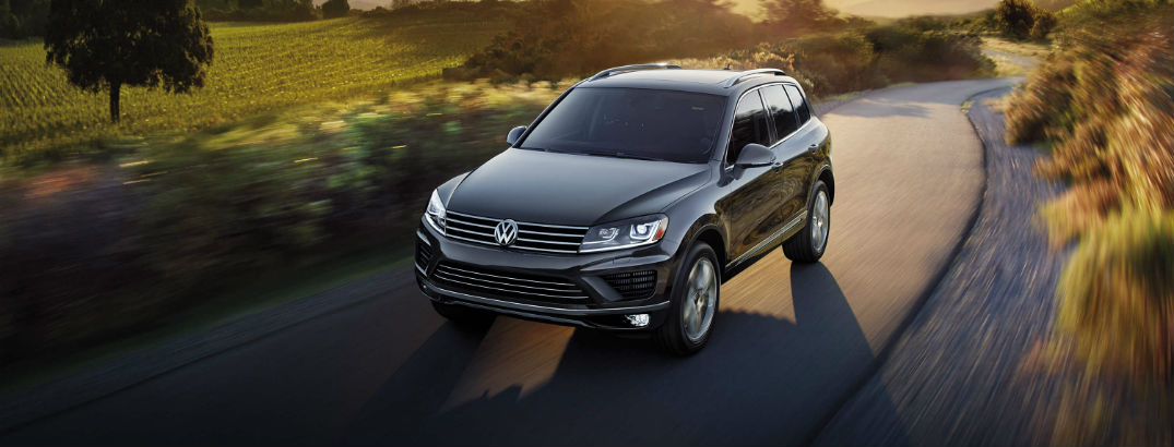 Families stay safe behind the wheel of the 2016 Touareg