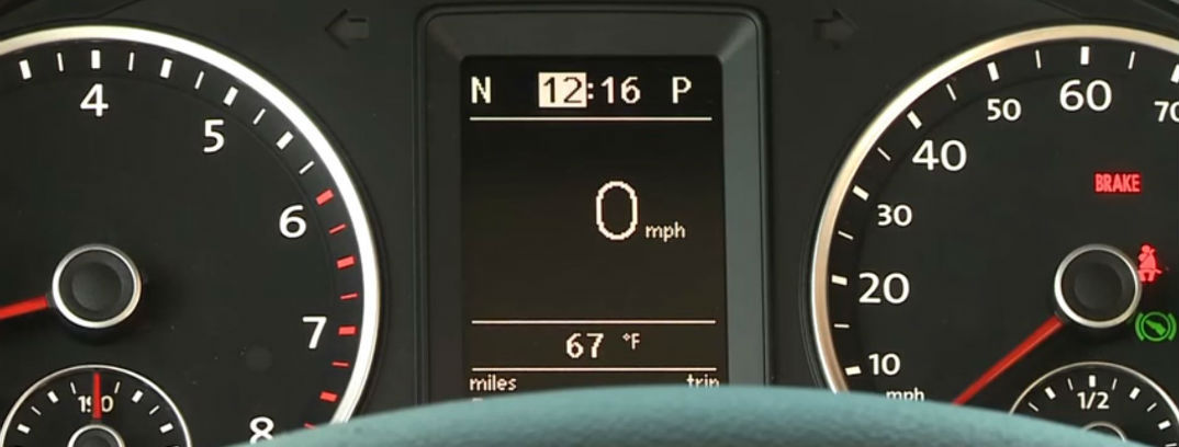 How to set the clock in your 2016 VW Tiguan