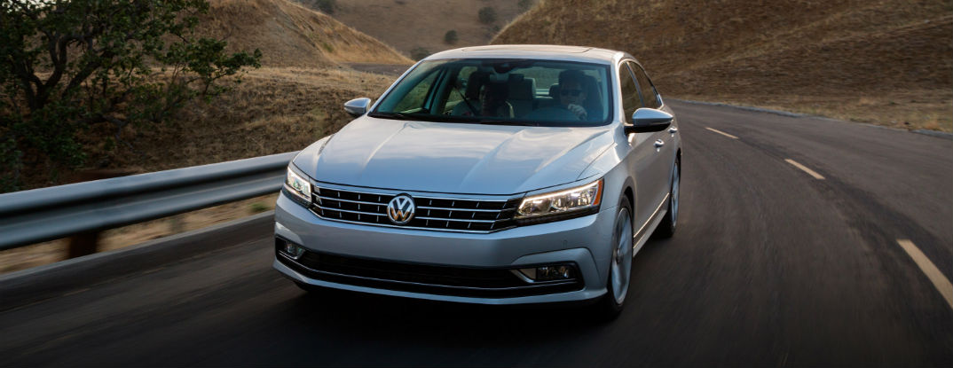 2016 Volkswagen Passat trim options