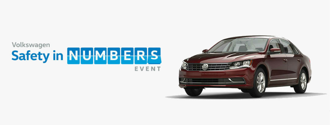 Save big with the VW Safety in Numbers Event