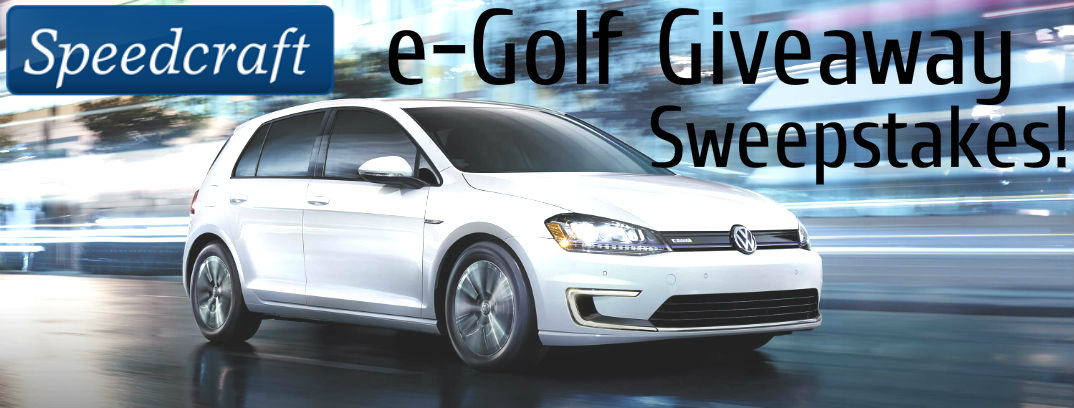 Speedcraft Volkswagen is Hosting an e-Golf Giveaway Sweepstakes