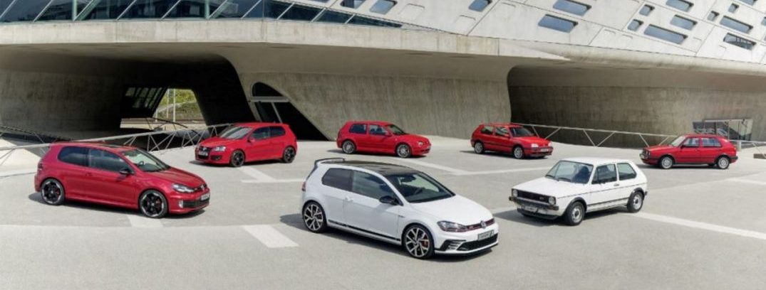 40 years of the golf gti