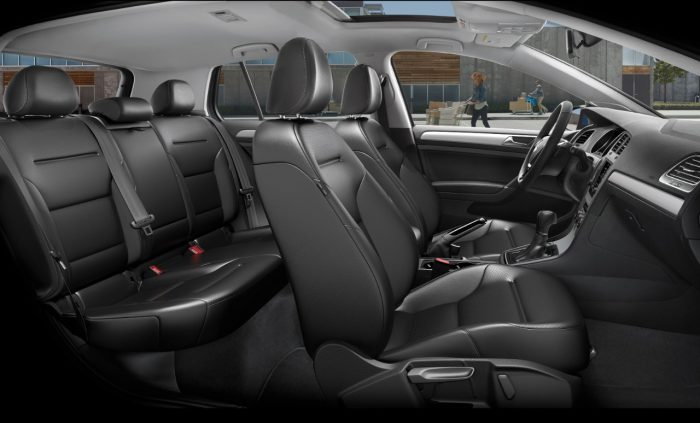 How Much Legroom Is There In The 2017 Volkswagen Golf