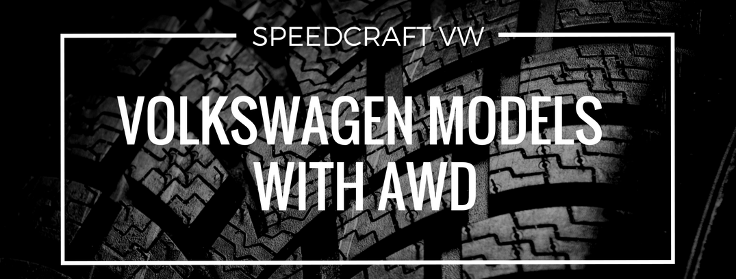 Speedcraft Volkswagen vehicles with awd