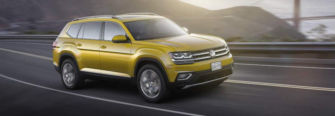 Stay safe in the 2018 Volkswagen Atlas
