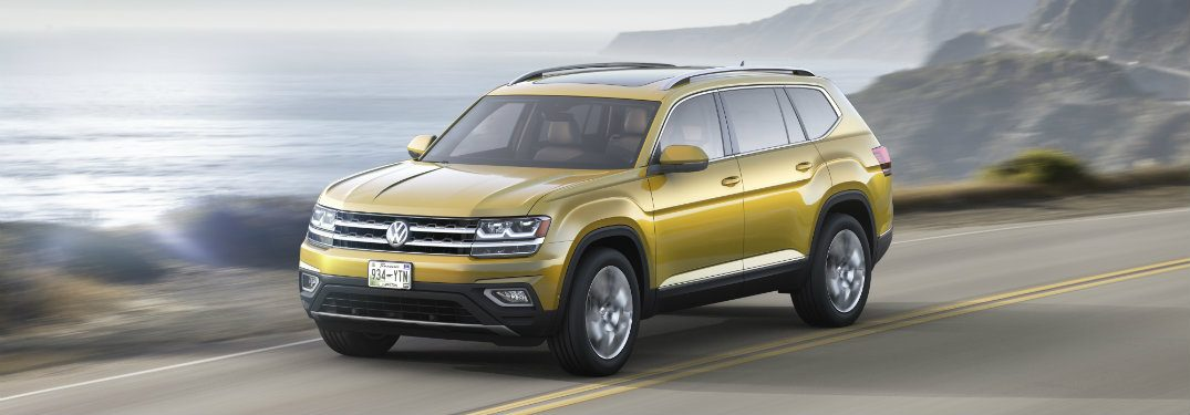 What are the engine options on the 2018 Volkswagen Atlas