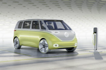 2018 Volkswagen ID BUZZ concept charging station