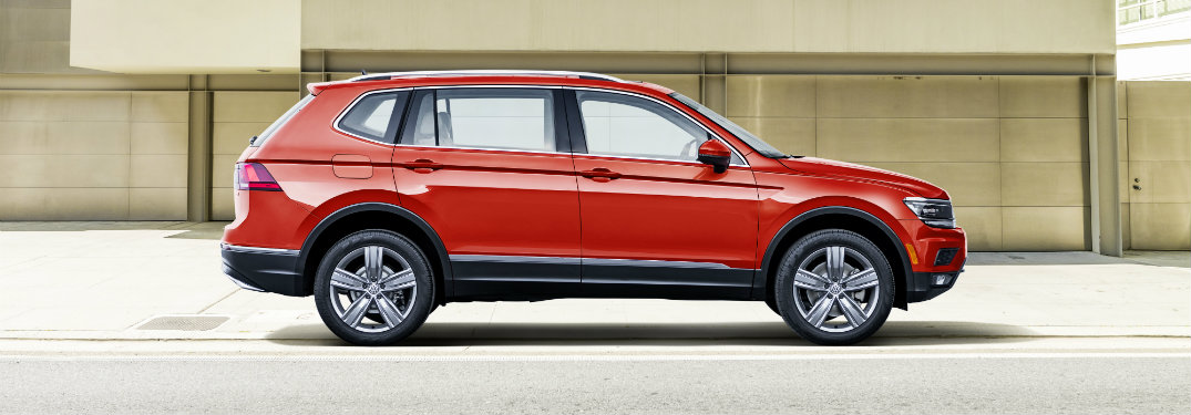 How much longer is the 2018 Volkswagen Tiguan long-body?