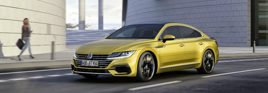 Images of the new Volkswagen Arteon