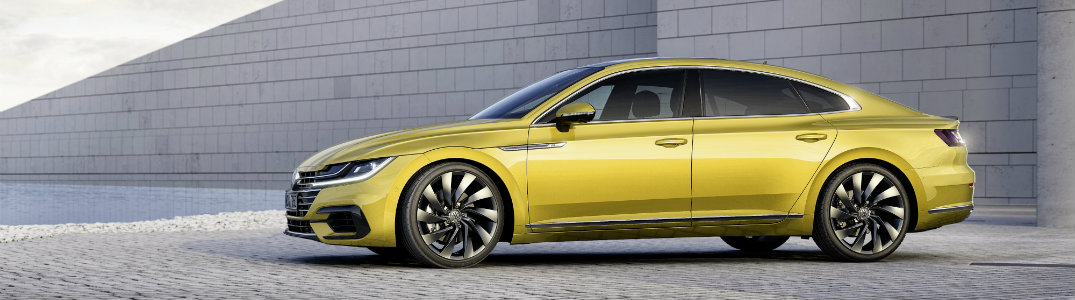 Volkswagen Arteon yellow side