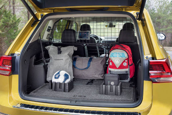 Cargo space in the 2018 Volkswagen Atlas Weekend Edition