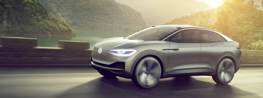 VW I.D. CROZZ Concept Car Showcased at Shanghai Auto Show 2017