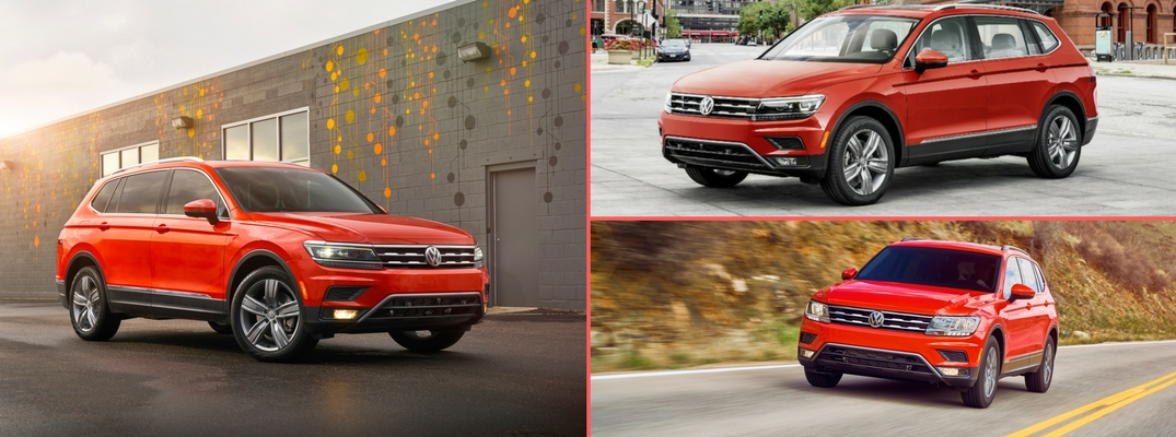 2018 Volkswagen Tiguan Trim Options and MSRP