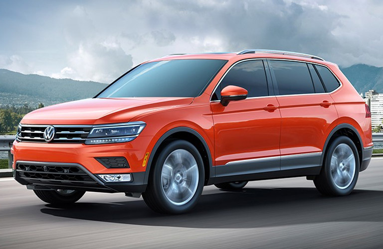 Updated 2018 VW Tiguan with longer body