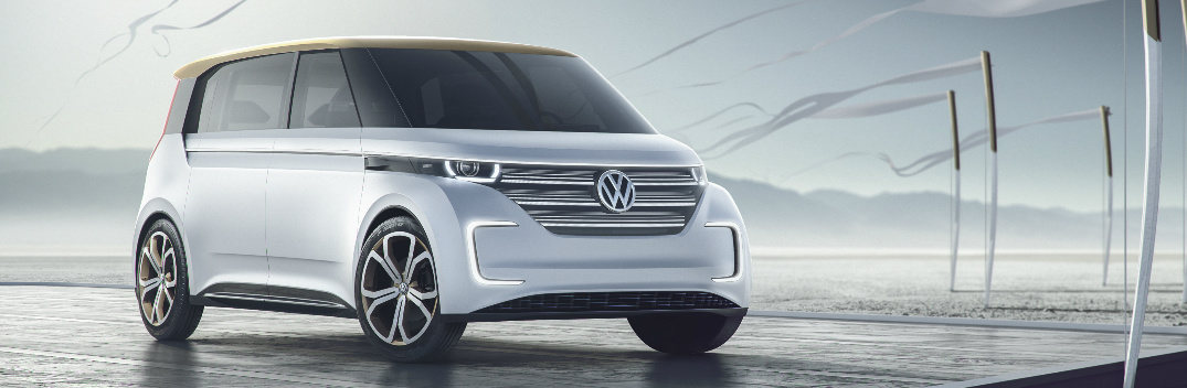 CES 2016 VW BUDD-e Concept Images Features and Specs