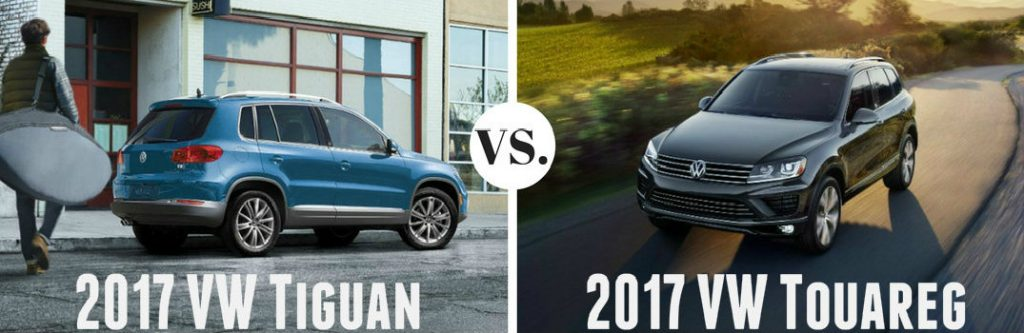 2017 tiguan vs 2017 touareg. Black Bedroom Furniture Sets. Home Design Ideas