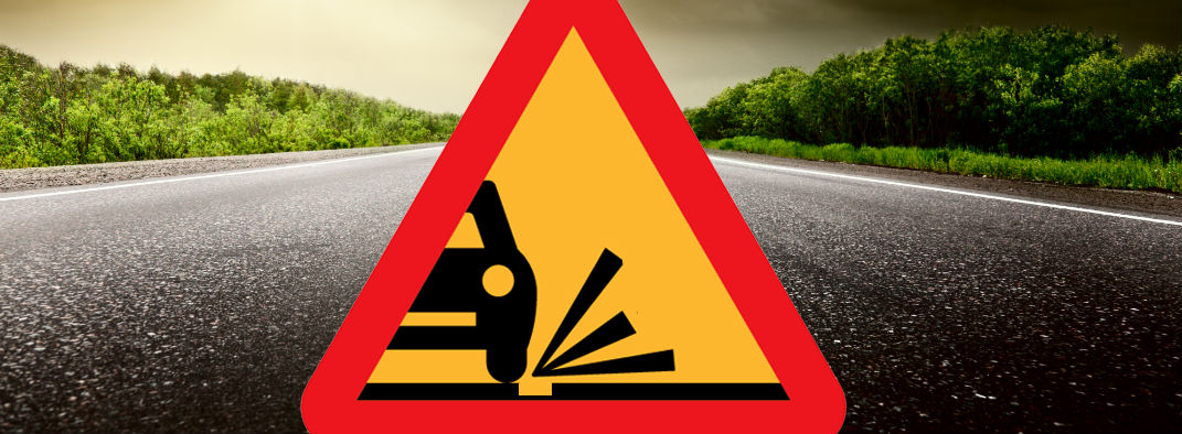 What to do about potholes in the road Orwigsburg PA