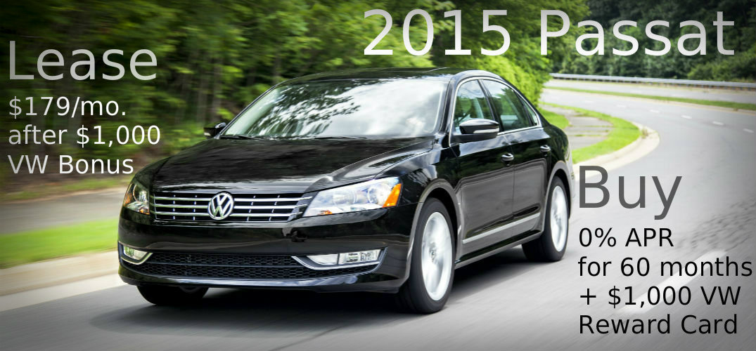 new passat clearance