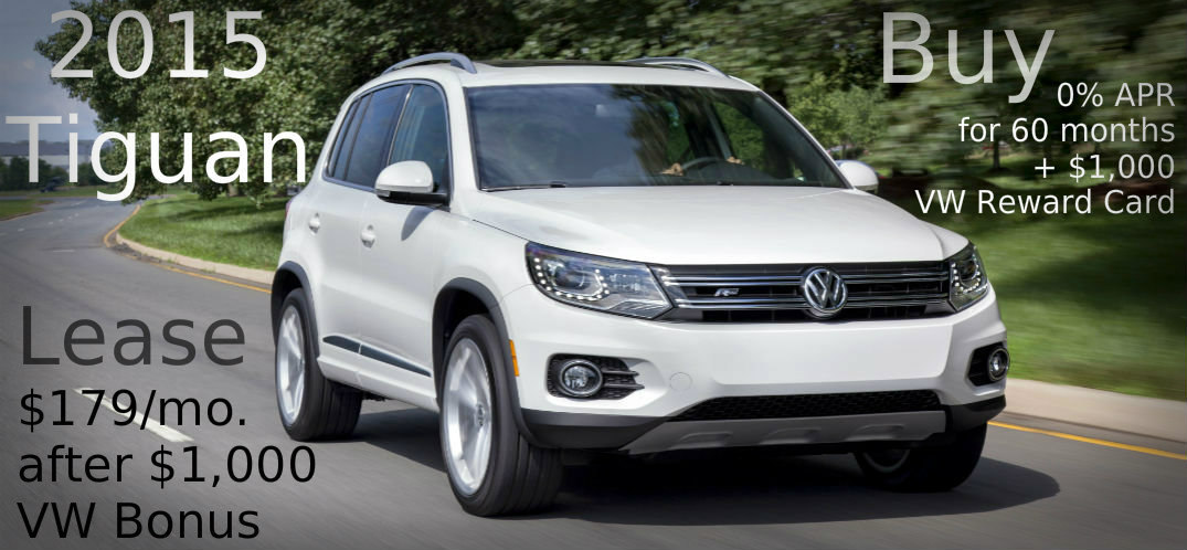 new tiguan clearance sale