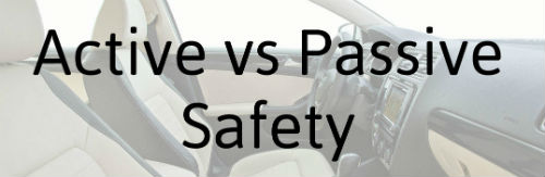 active vs passive safety features