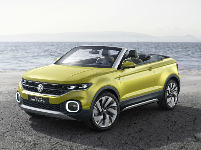 Volkswagen T-Cross Breeze color options