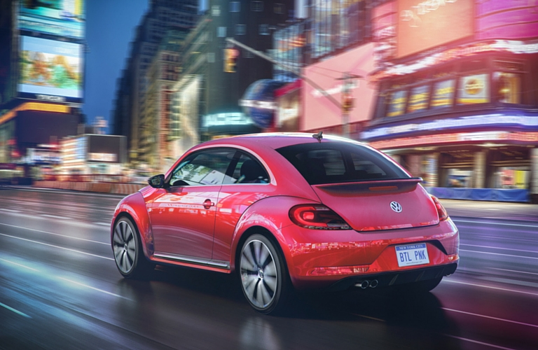 2017 VW Pink Beetle standard features