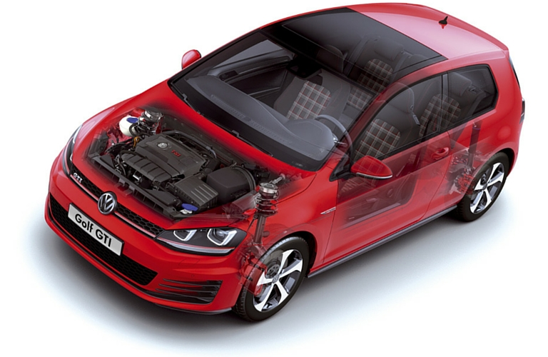 2016 VW Golf GTI Autobahn packages