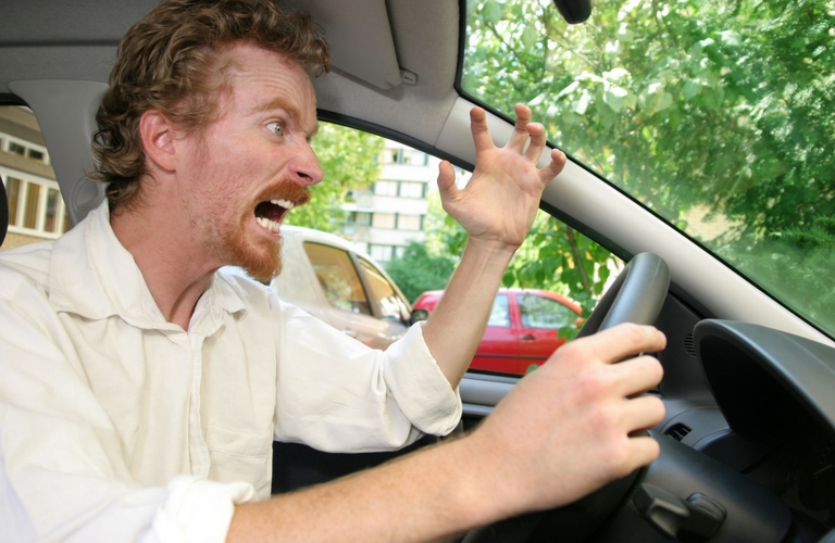 What to do when you have road rage