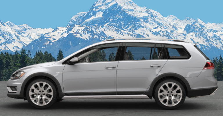 2017 Golf Alltrack Reflect Silver Metallic