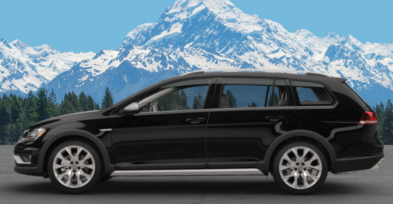 2017 Golf Alltrack Deep Black Pearl
