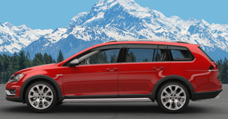 2017 Golf Alltrack Tornado Red