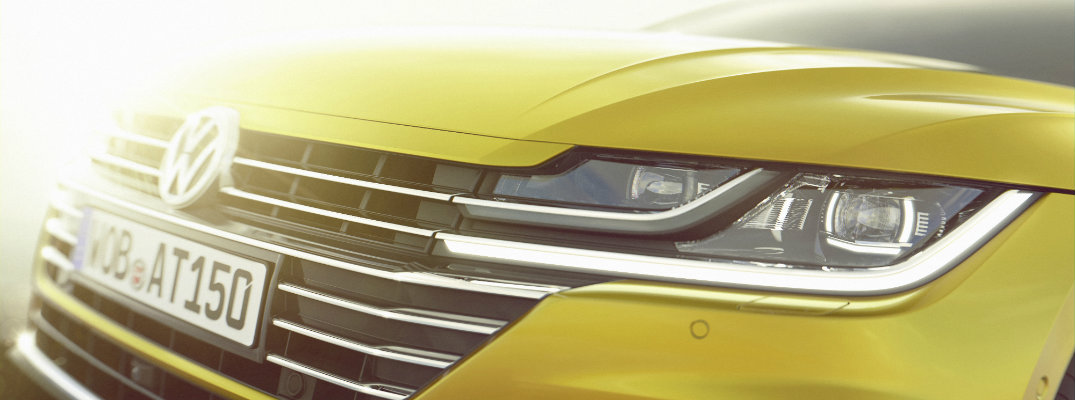 All-new Volkswagen Arteon Grille and Headlights Design