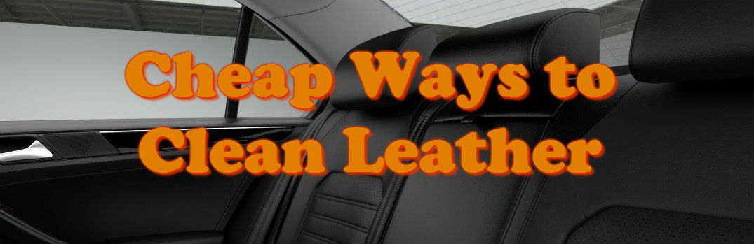 how to clean spills on car seats