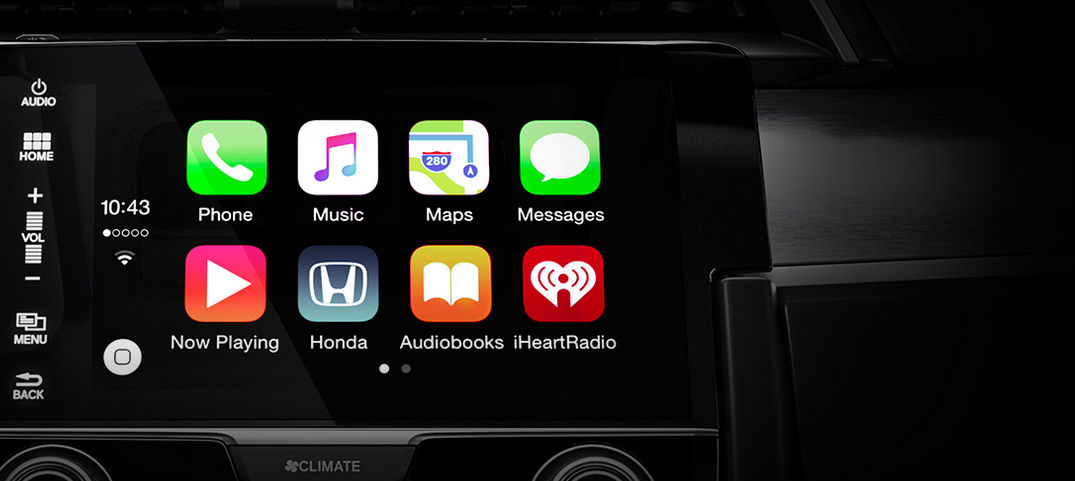 What Honda models have Apple CarPlay and Android Auto?