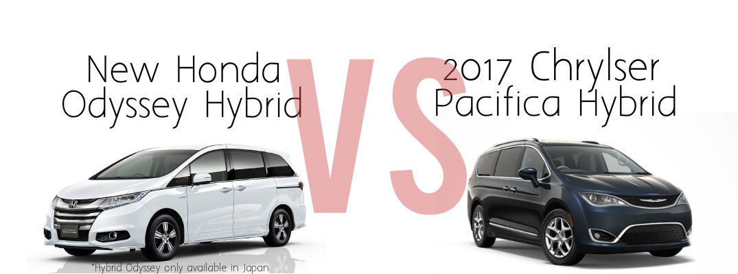 Honda odyssey hybrid vs 2017 chrysler pacifica for Chrysler pacifica vs honda odyssey
