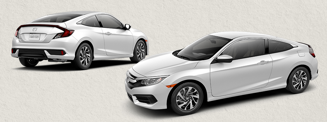 2016 honda civic coupe features and accessories. Black Bedroom Furniture Sets. Home Design Ideas