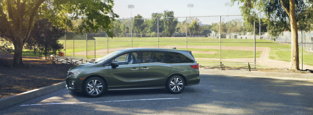 What is new on the 2018 Honda Odyssey?