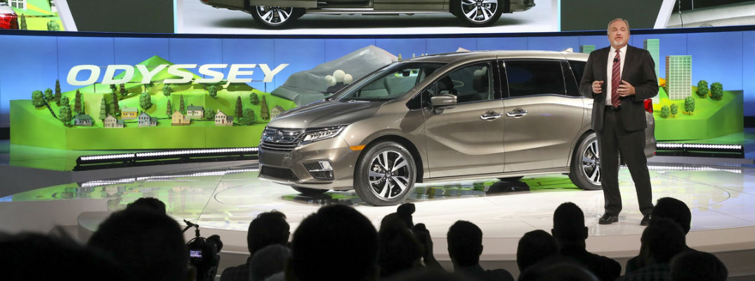 What are the 2018 Honda Odyssey changes?