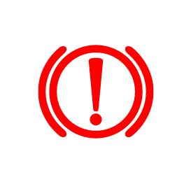 volkswagen exclamation poin with circle warning light