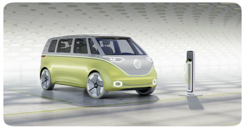 VW ID BUZZ Concept front