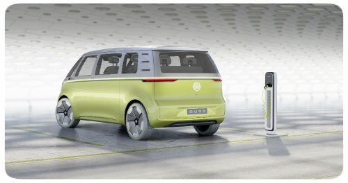 VW ID BUZZ Concept rear