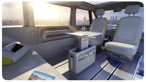 VW ID BUZZ Concept seating