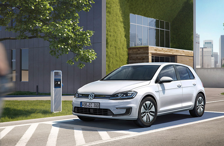 VW e-Golf and Buy Local Health & Fitness Festival